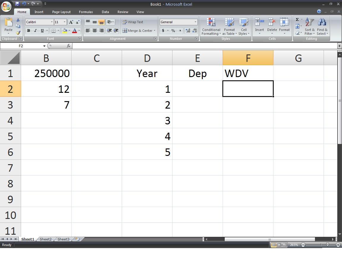 Tybcom Computer Notes Write Steps To Compute Depreciation
