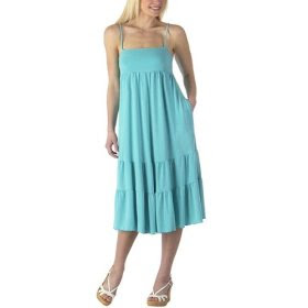 Cheap inexpensive blue sundress under $20. More colors available