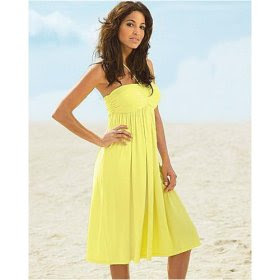 Cheap Inexpensive Yellow Sundress from Newport News under $20