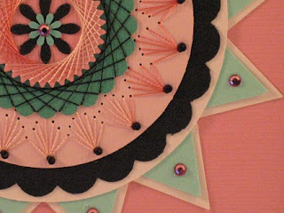 paper stitching - detail