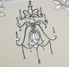 chandelier graphic