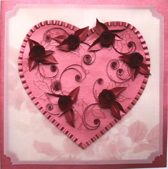 Spiral Rose Valentine Tutorial