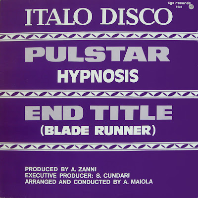 The Ghetto Disco Hypnosis End Title Bladerunner