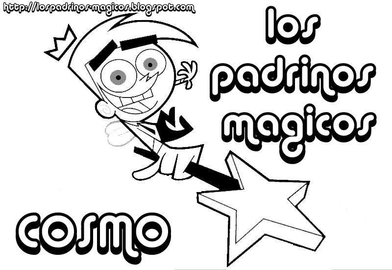 Padrinos Magicos Serie Tv Dibujos Para Colorear