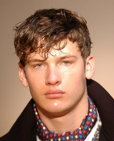 Short Hairstyles for Men with Curly Hair 2011