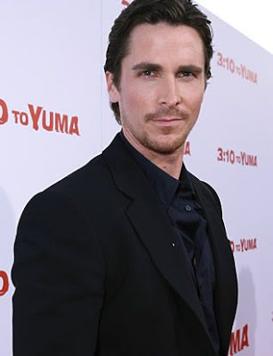 yaur fashion style & design update: Actor Christian Bale's Hairstyles in 2009