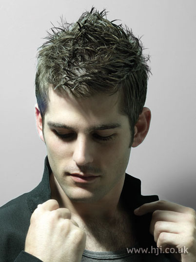 Trendy Hairstyles 2010 For Men. Trendy Short Faux Hawk Haircut