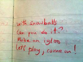 A Teraz Haga W Szkole Staś Pisze Wiersz O Wakacjach Zimowych