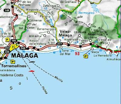 mapa de espanha benalmadena O Diário das Minhas Viagens: Espanha (Torre del Mar, Mijas e  mapa de espanha benalmadena