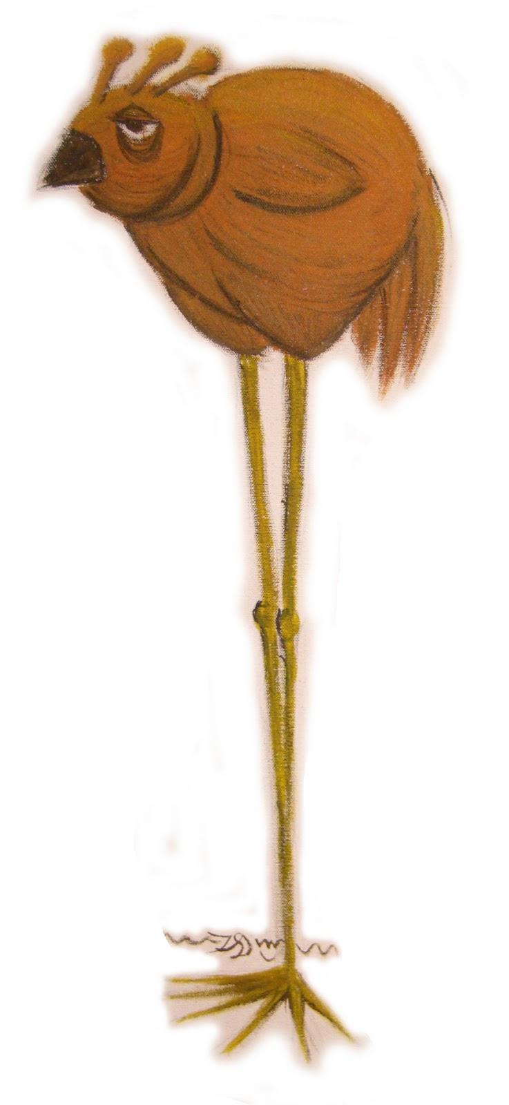 Art Slug: Stick Legs Chicken