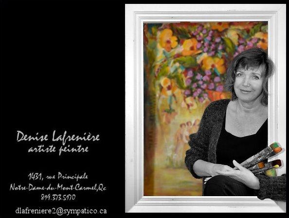 Denise Lafrenière Artiste Peintre