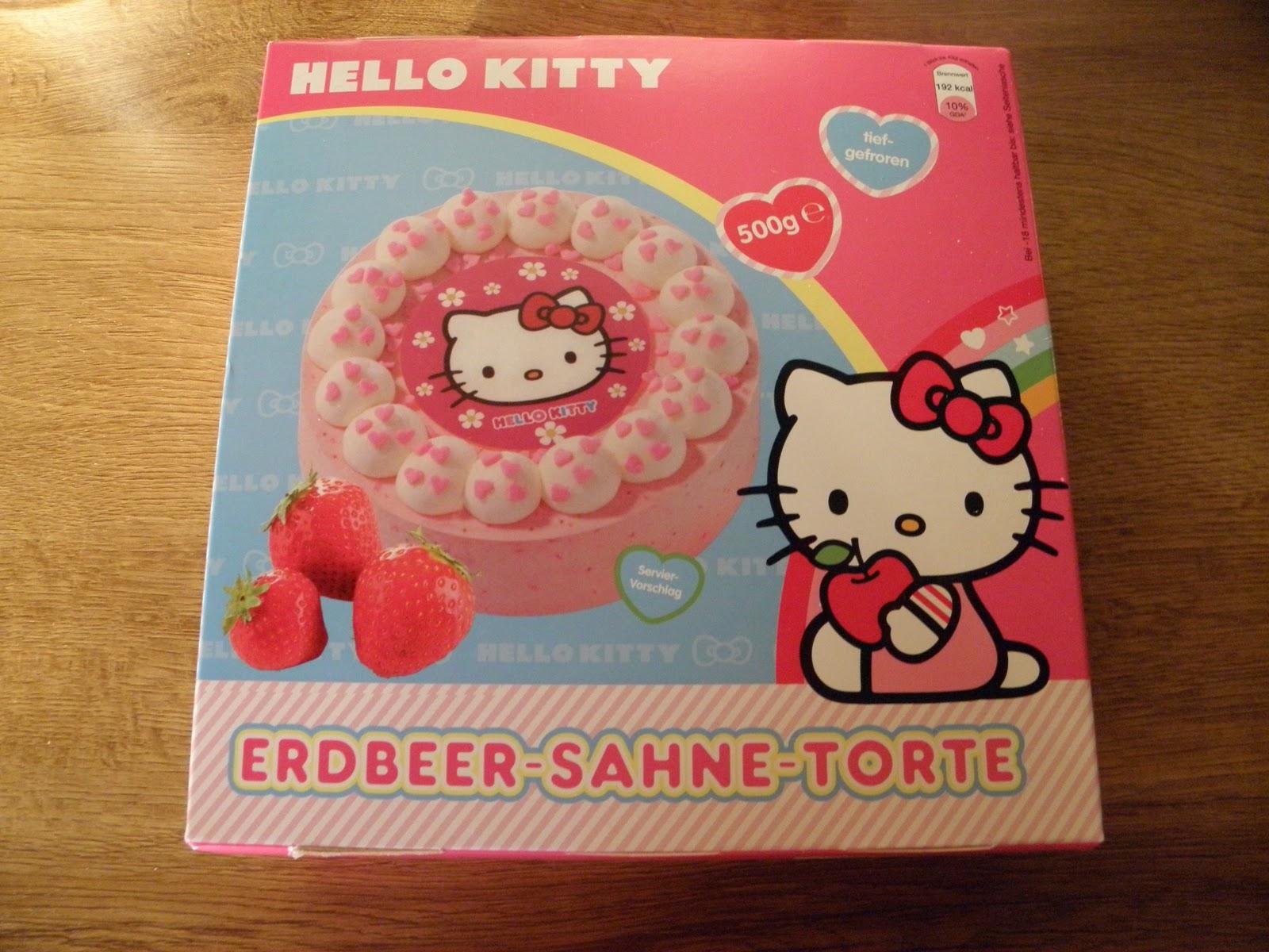 Glam Shine Beautyblog Hello Kitty Torte