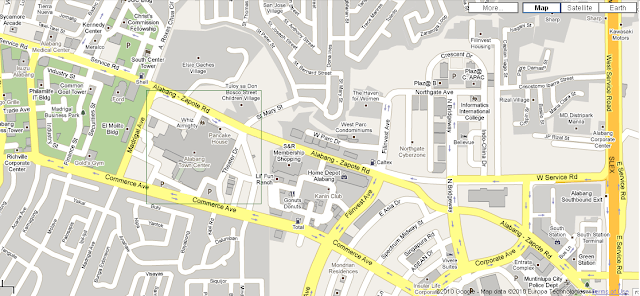 Importancia Cincuenta Fácil  Directions, Routes, Maps, Shortcuts in Metro Manila: How To Get To Alabang  Town Center (ATC)?