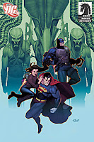Superman and Batman Vs Aliens and Predator #2 (of 2)