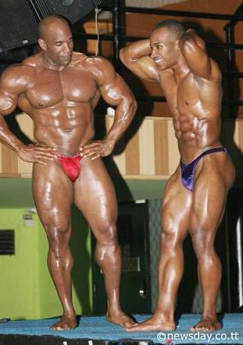world bodybuilders pictures: Trinidad and Tobago bodybuilder
