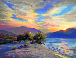 Bonita Paulis Fine Art : Summer at Lake Tahoe