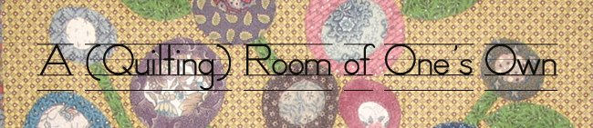 A (Quilting) Room of One's Own