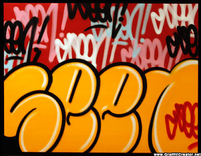 New Graffiti Master Seen Bubble Letters 3 Color