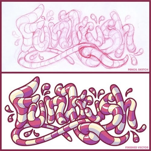 New Graffiti Master Letters Funkrush