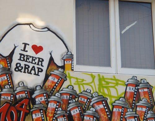 Graffiti Art Hop Hip Dj