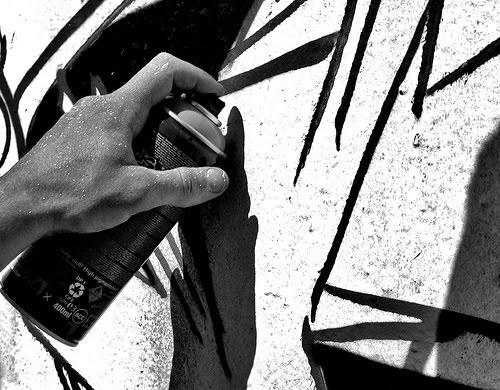 grafity font tutorial how to spray can graffiti art