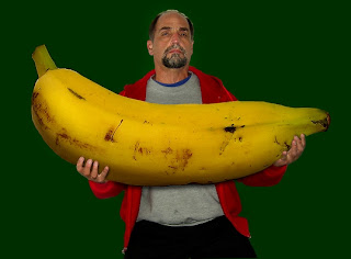 Weird giant banana