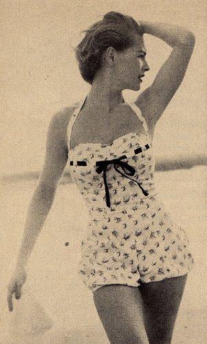 Bathing Suit Vintage 56