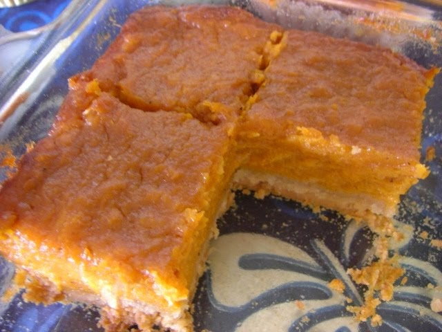 Kitty Dormant Sweet Potato Bars
