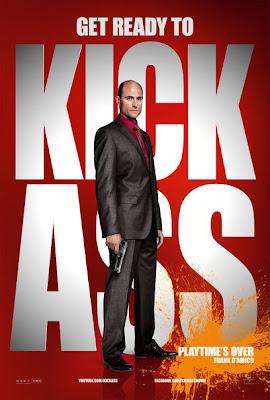 Mark Strong - Kick-Ass, listo para machacar La película