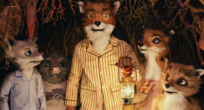 Fantastic Mr Fox directed by Wes Anderson