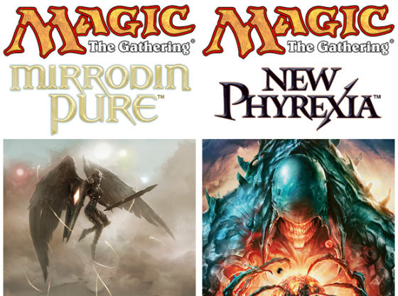 Magic the Gathering : Mirrodin Pure / New Phyrexia