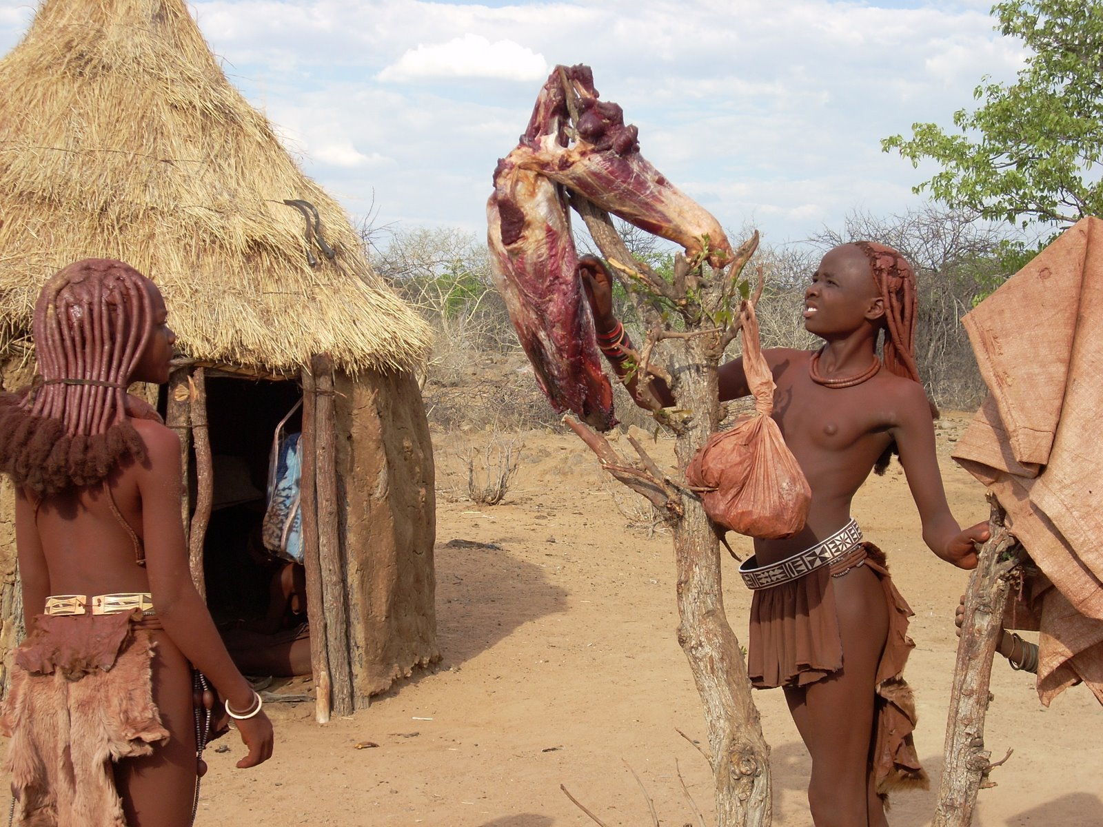 Women of the Himba tribe