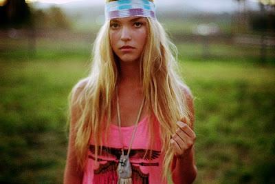 Blonde Native American 68