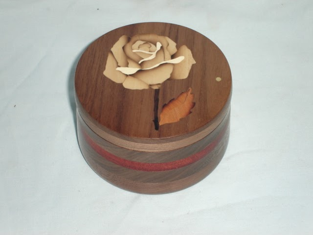 Wood Working How To Inlay A White Rose