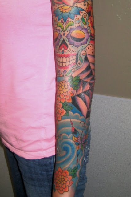 Style Tattoo: Chris Earnhart Tattoo Maker: The New Mexican-Japanese Style