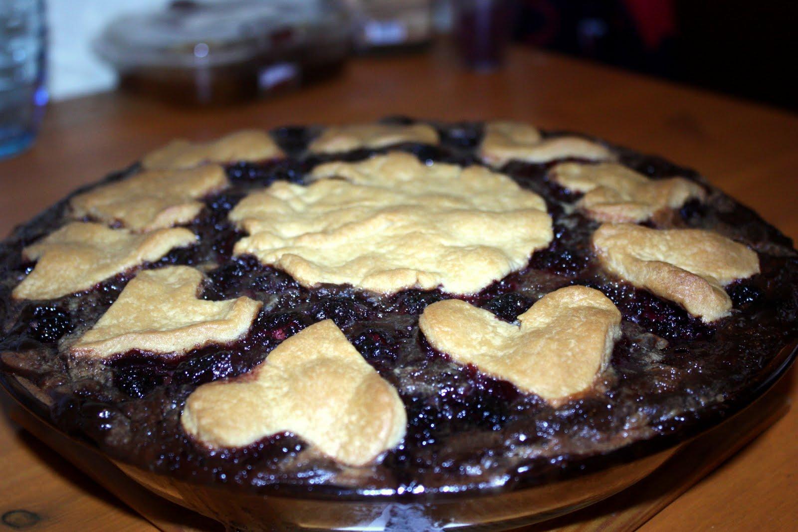 Çikolatalı Böğürtlenli Tart Tarifi