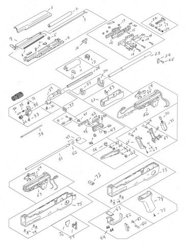 Airsoft Gun War Series Airsoft Gun Parts