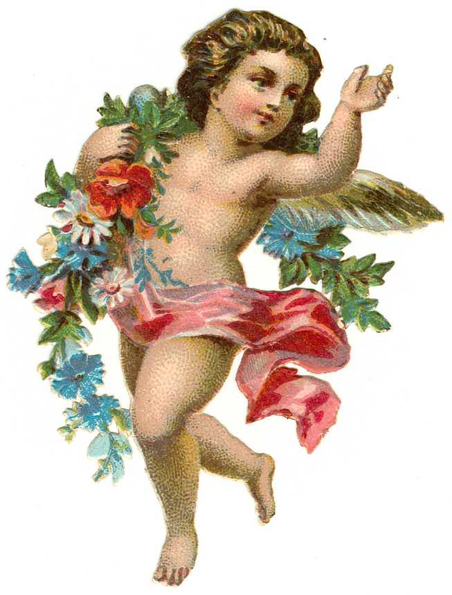 Cards Scrapbooking and Art: Vintage Angel & fairies (8)