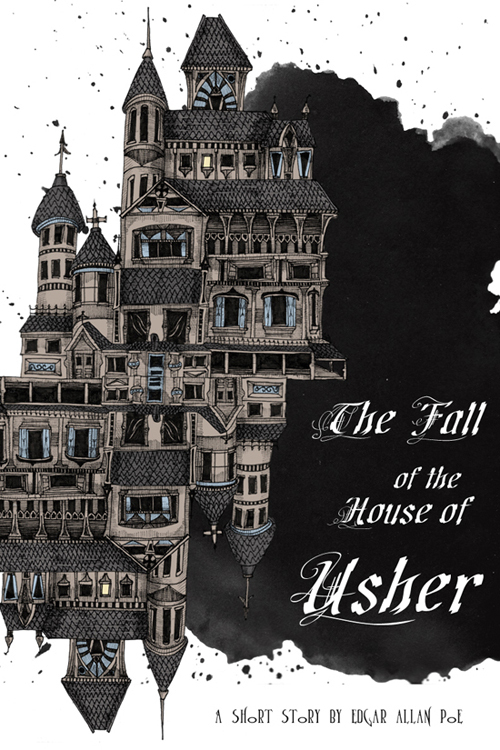 Gothic literature The Fall of the House of Usher by Edgar