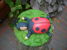 Ladybug in the garden