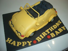 Sports convertible cake