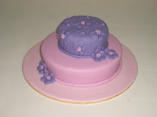 Pink and Purple cake
