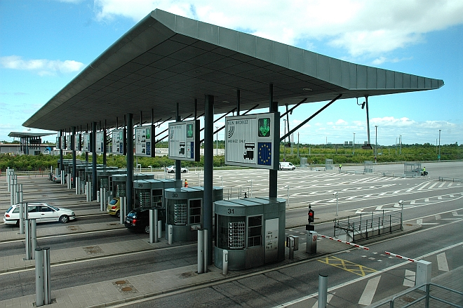 Toll Plaza at the Oresund Crossing (Sweden/Denmark)
