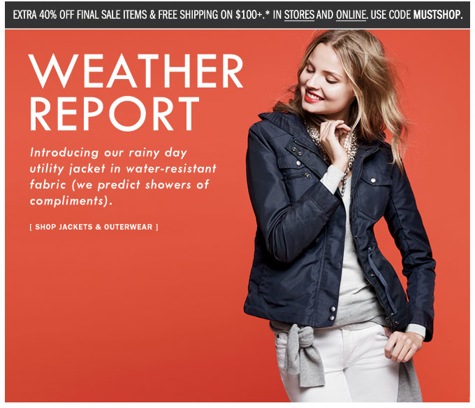 268fe827293a3a J.Crew Aficionada  J.Crew Email  Fashion forecast  the rainy day ...
