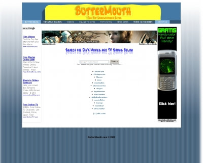 search for free divx movies and tv shows butterblog