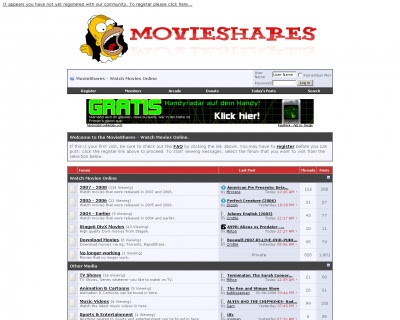free movies online message board � movieshares