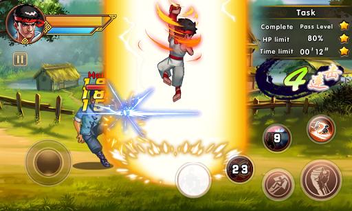 Street Combat Kung Fu Fighting Full Tiền Vàng