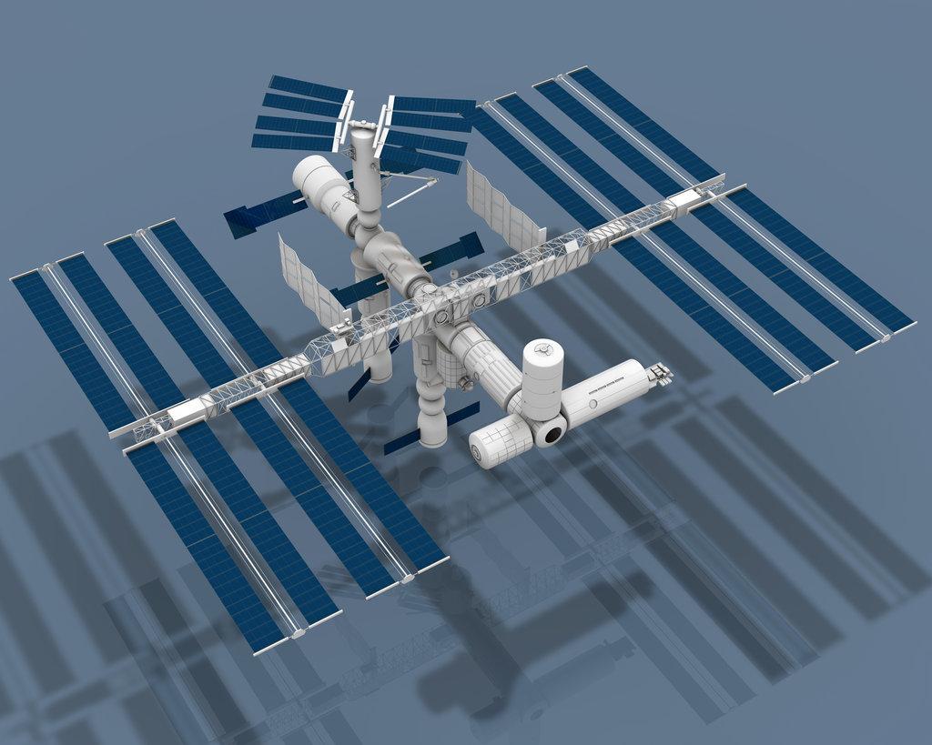 3d model international space station - photo #1