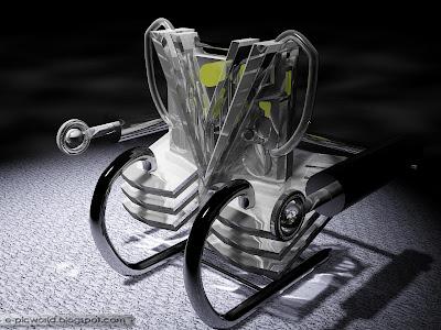 3D Glass sculptures 3