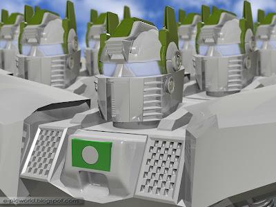 3d robot wallpaper 2 - Robo-Pas 1